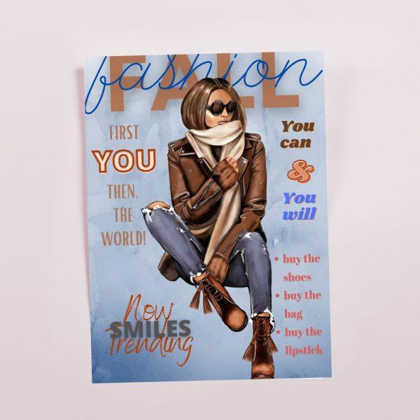 Brunette Magazine Cover