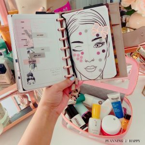 Multi steps beauty routine
