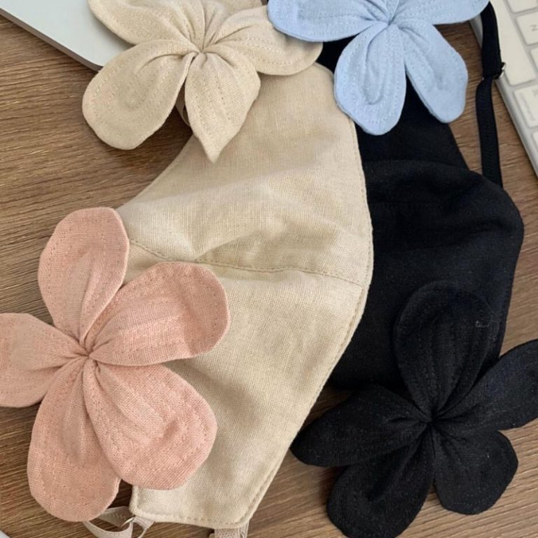 linen-floral-masks