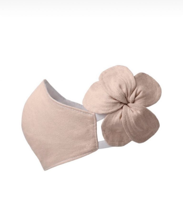 Blush Linen Facemask
