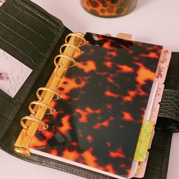 Personal Planner Acetate Cover