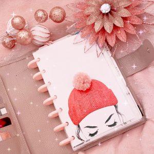 Pom Pom Hat Planner Cover