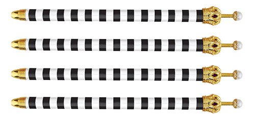black and white pen