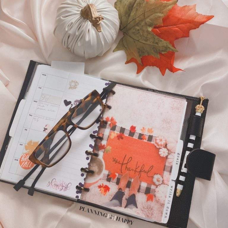 Thankful Planner Cover